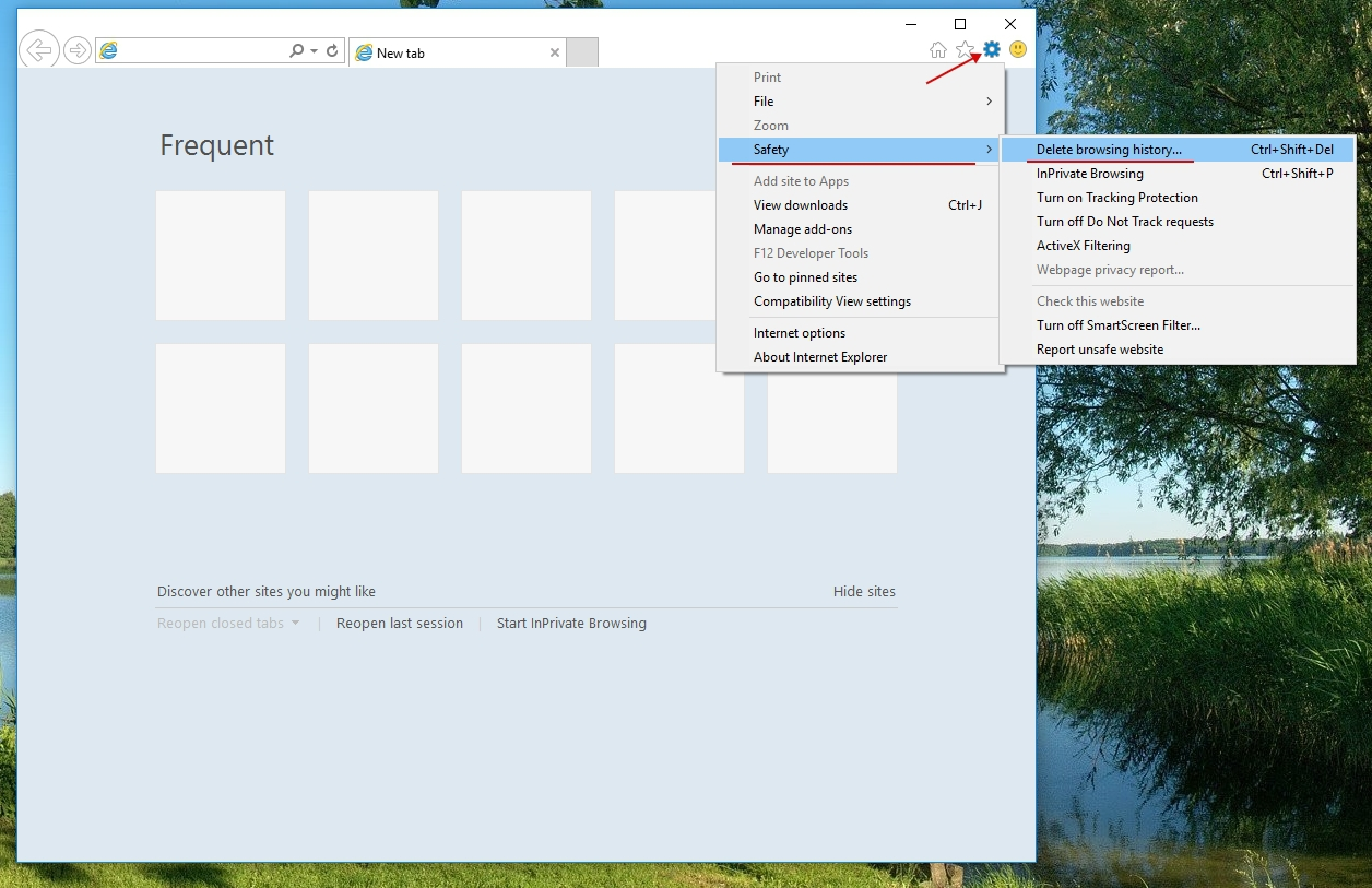 How To Clean A Local Storage In Internet Explorer 11: